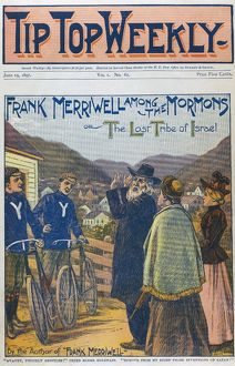 DIME NOVEL, 1896. 'Frank Merriwell Among the Mormons, or The Lost Tribe of Israel