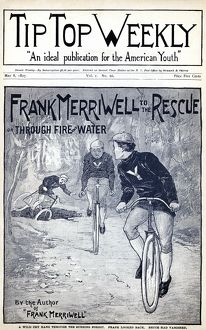 DIME NOVEL, 1897. 'Frank Merriwell to the Rescue, or Through Fire and Water