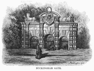 DORE: LONDON, 1872. 'Buckingham Gate