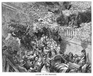 DORE: LONDON, 1872. 'Caught in the Branches
