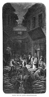 DORE: LONDON, 1872. 'Dark House Lane - Billingsgate