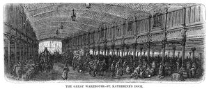 DORE: LONDON, 1872. 'The Great Warehouse - St