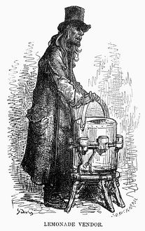 DORE: LONDON: 1872. 'Lemonade Vendor