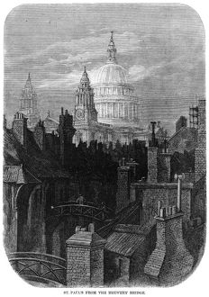 DORE: LONDON, 1872. 'St. Paul's from the Brewery Bridge