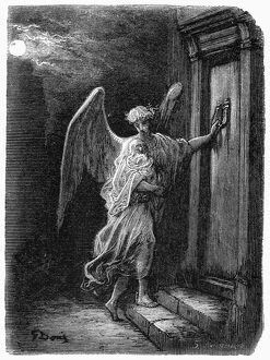 DORE: LONDON: 1873. 'The Angel and the Orphan