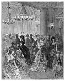 DORE: LONDON, 1873. 'A Ball at the Mansion House