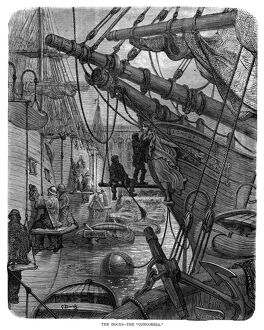 DORE: LONDON, 1873. 'The Docks - The 'Concordia