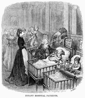 DORE: LONDON: 1873. 'Infant Hospital Patients