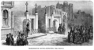 DORE: LONDON: 1873. 'Marlborough House: Expecting the Prince