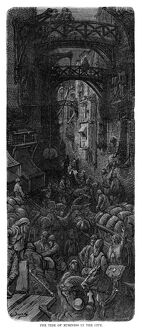 DORE: LONDON, 1873. 'The Tide of Business in the City