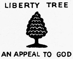 Emblem of the Sons of Liberty, 1776.