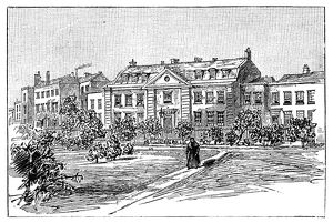 ENGLAND: FRENCH HOSPITAL. 'La Providence,' the original French Protestant Hospital