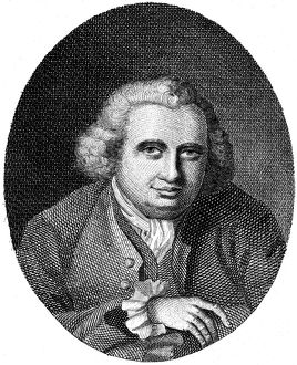 English physician and poet. Engraving, English, 1795.