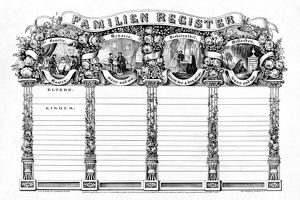 whats new b/family register c1869 illustrated family register