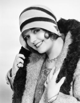 FASHION: CLOCHE HAT, 1929. Sally Starr, American movie actress, photographed in 1929