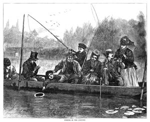 sports/fishing 1871 fishing country engraving 1871