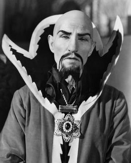 FLASH GORDON, 1936. The Emperor Ming, played by Charles Middleton.