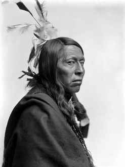 FLYING HAWK (1854-1931). Oglala Sioux chief. Photograph by Gertrude Kasebier, c1900