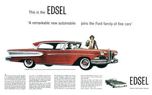 automobiles/ford cars edsel 1957 this edsel ad ford