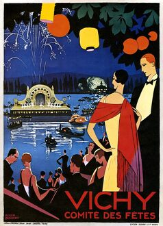 FRANCE: VICHY, c1920. Lithograph by Roger Broders, c1920