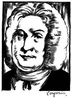 FRANCOIS COUPERIN (1668-1733). French composer and organist