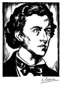 FREDERIC CHOPIN (1810-1849). Polish composer and pianist