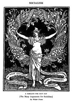 A GARLAND FOR MAY DAY, 1913. 'A Garland for May day [The Many Arguments for Socialism]
