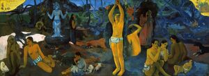 GAUGUIN: PAINTING, 1897. 'Where Do We Come From / What Are We / Where Are We Going