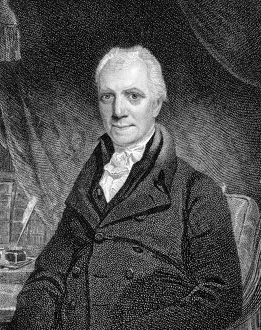 GEORGE CRABBE (1754-1832). English cleric and poet. Stipple engraving, English, 1819.