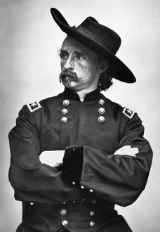 GEORGE CUSTER (1839-1876). American army officer