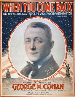 GEORGE M. COHAN (1878-1942). American actor, playwright, and producer