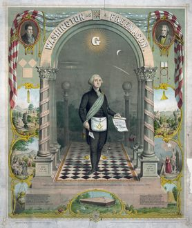GEORGE WASHINGTON (1732-1799). First President of the United States