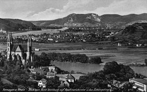 world geography/germany remagen c1920 view apollinaris church