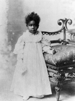 african american history/girl 19th century late 19th century photograph