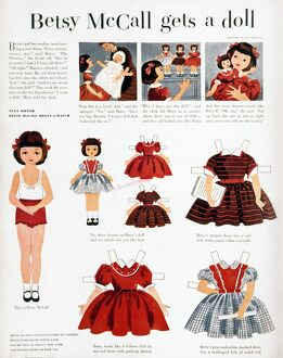 vintage ads/girls fashions 1952 page september 1952 issue
