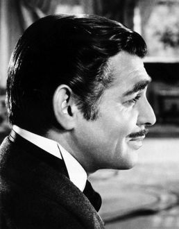 GONE WITH THE WIND, 1939. Clark Gable as Rhett Butler.