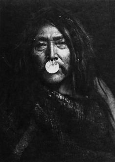 HAHUAMIS MAN, 1914. Naemahlpunkuma, a Hahuamis Native American man from the south