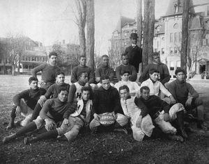 HAMPTON: FOOTBALL TEAM. Football team of Hampton Institute, Virginia