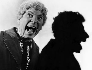 HARPO MARX (1888-1964). American comedian. Photograph, early 20th century.