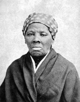 HARRIET TUBMAN (1823-1913). American abolitionist. Photographed in 1895.