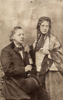 HENRY WARD BEECHER (1813-1887). American clergyman. With his sister, author Harriet Beecher Stowe