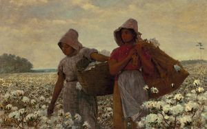 HOMER: THE COTTON PICKERS. Oil on canvas, Winslow Homer, 1876
