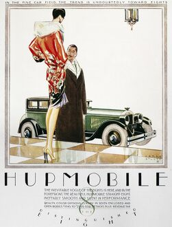 HUPMOBILE AD, 1926. Advertisement for the Hupmobile Straight-Eight automobile