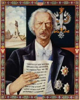 IGNACE JAN PADEREWSKI. (1860-1941). Polish pianist, composer, and statesman. Polish lithograph
