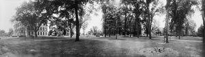 ILLINOIS: KNOX COLLEGE, c1914. Panoramic view of the campus of Knox College in Galesburg