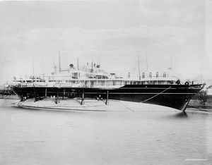 IMPERIAL YACHT: LIVADIA. 'Livadia,' the imperial yacht of the House of Romanov
