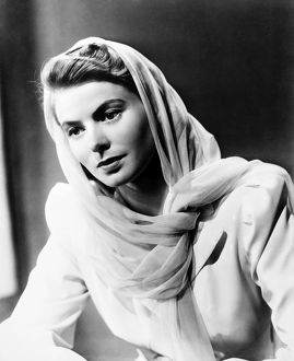 INGRID BERGMAN (1915-1982). Swedish actress.