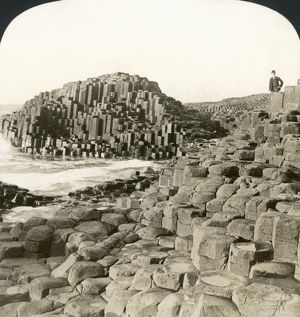 IRELAND: GIANT'S CAUSEWAY. View of the Giant's Causeway, County Antrim, Northern Ireland