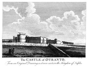 ITALY: OTRANTO CASTLE. The ancient Aragonese Castle (rebuilt in the 15th century)