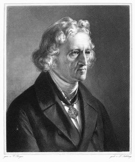 JACOB GRIMM (1785-1863). German philologist and folklorist